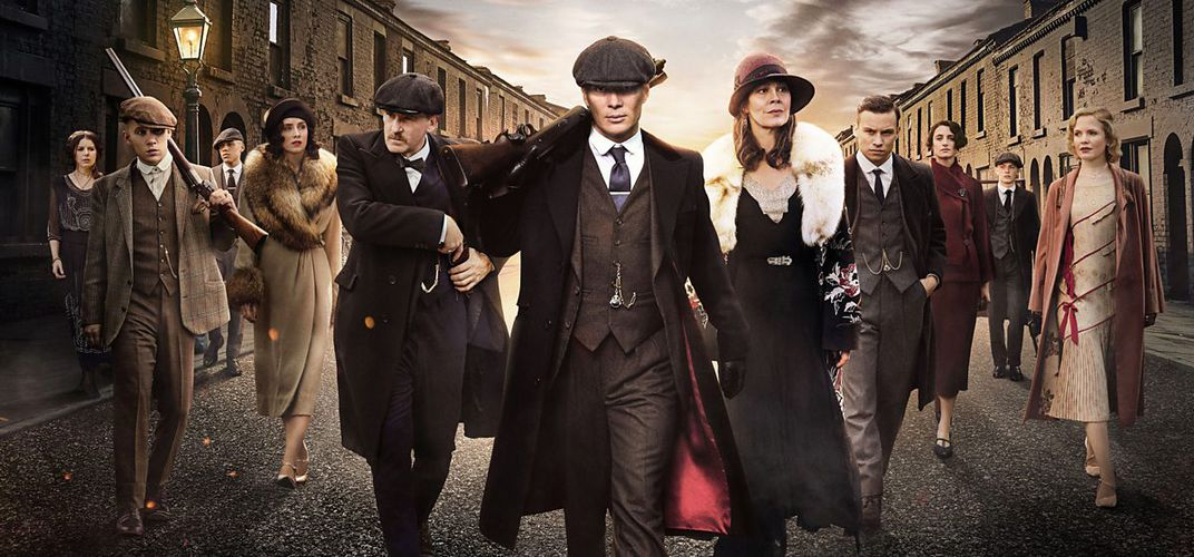 Caption: Who Were the Real 'Peaky Blinders'?