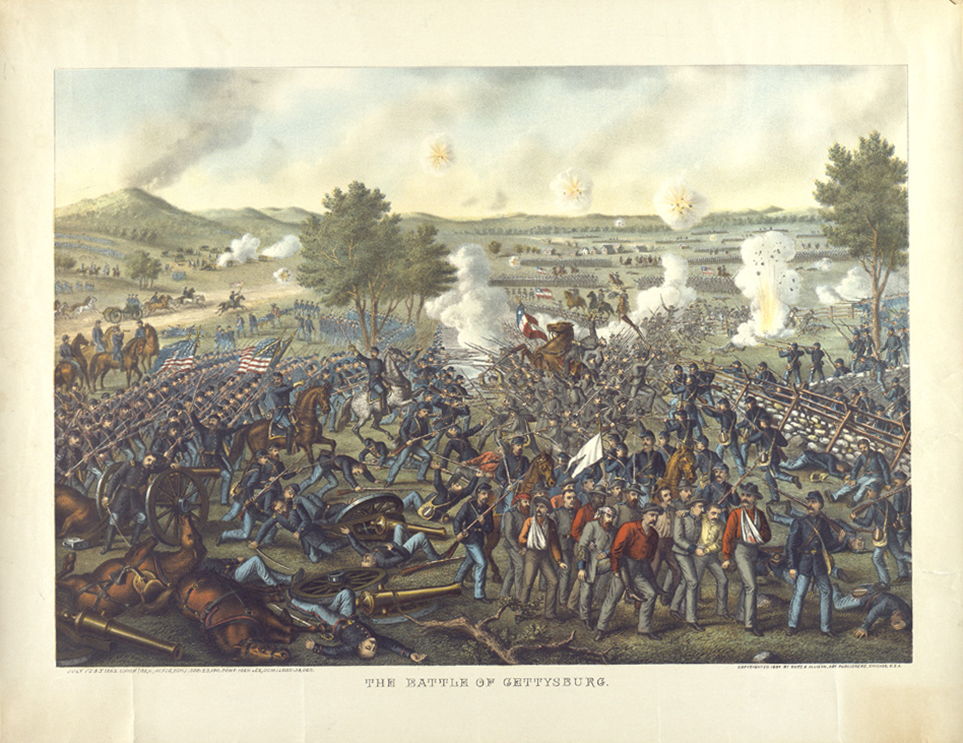 a history of the bloody battle of gettysburg in the civil war By ecw correspondent nicholas youngs that field of blood: the battle of  the newest release in the emerging civil war  civil war, history, gettysburg.