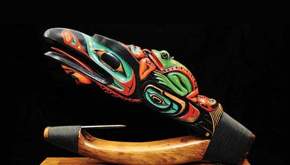 The Traditional Wooden Halibut Hook That's Still Snagging Fish Off Alaska