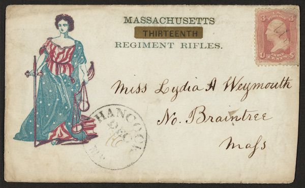Letter to Miss Lydia H. Weymouth