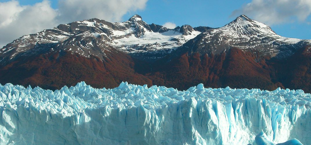 Autumn Colours at Perito Moreno Glacier
