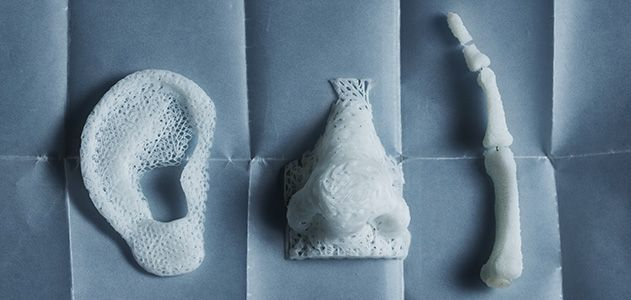 Printed body parts