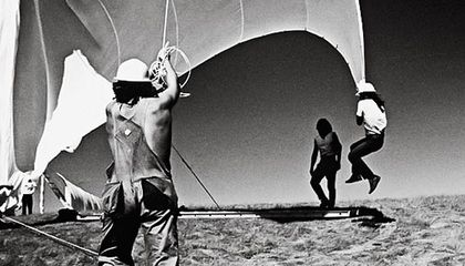 Christo and Jeanne Claude Running Fence