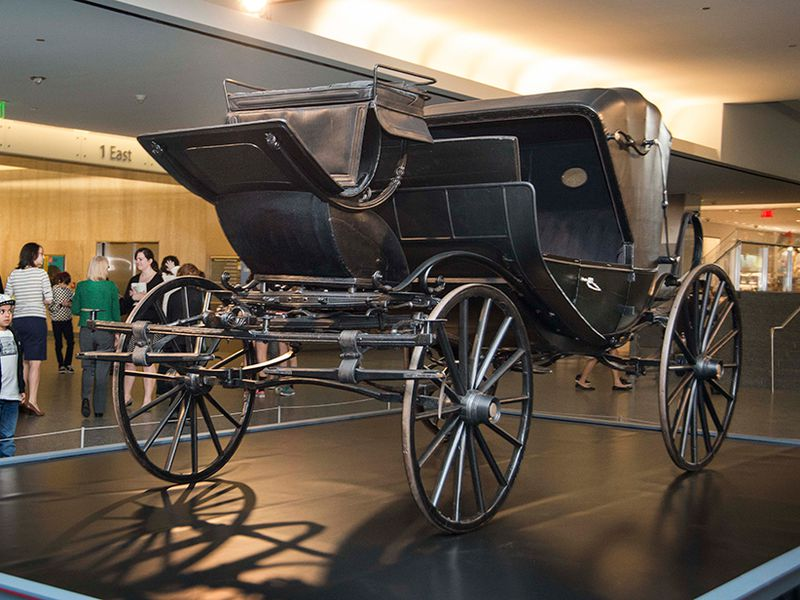 This Is The Carriage That Took Lincoln On His Fateful Trip To Ford S