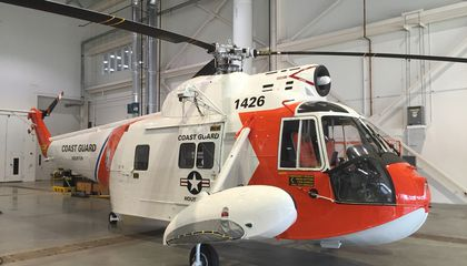 The Smithsonian Gets Its First Coast Guard Helicopter