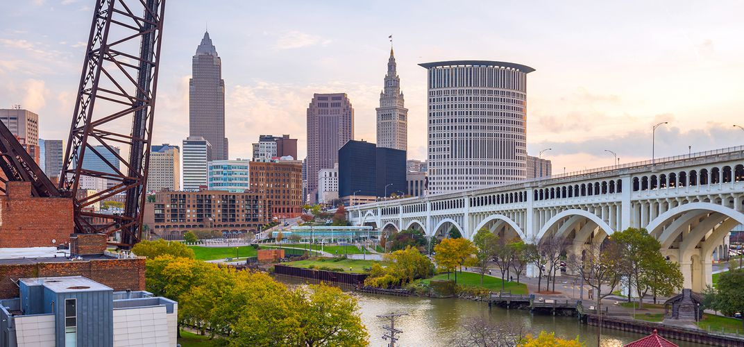 Skyline of Cleveland, Ohio