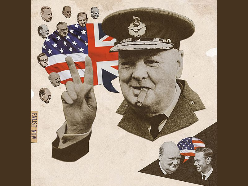 Churchill Illustration