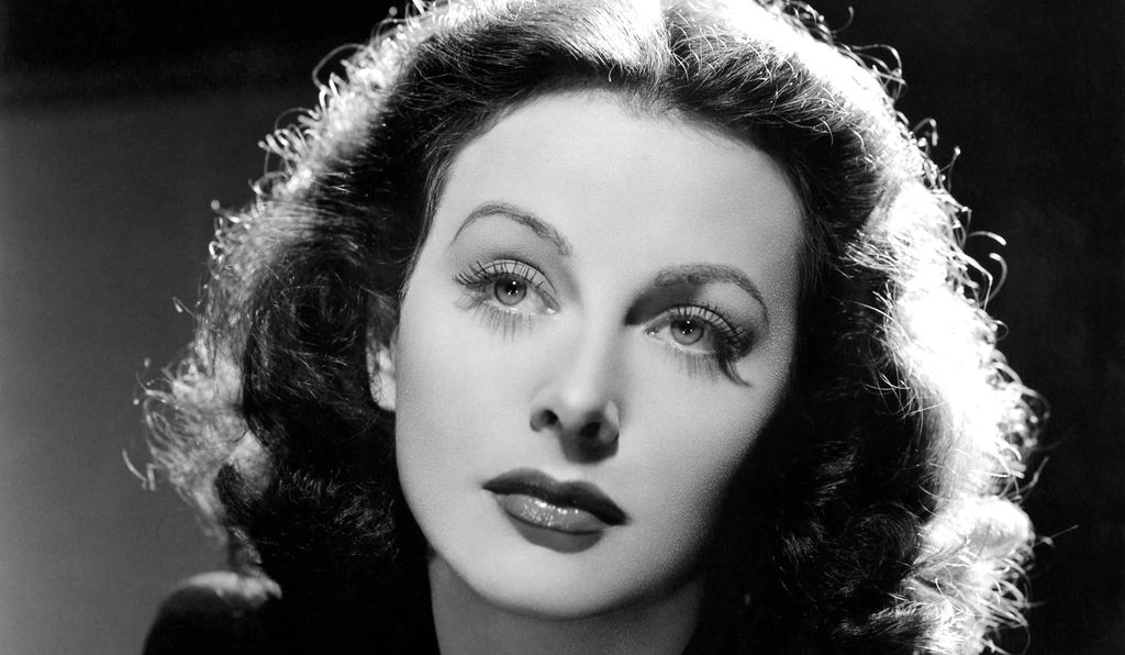 "Disdaining the celebrity lifestyle, Hedy Lamarr concluded that ""any girl can be glamorous. All you have to do is stand still and look stupid."""