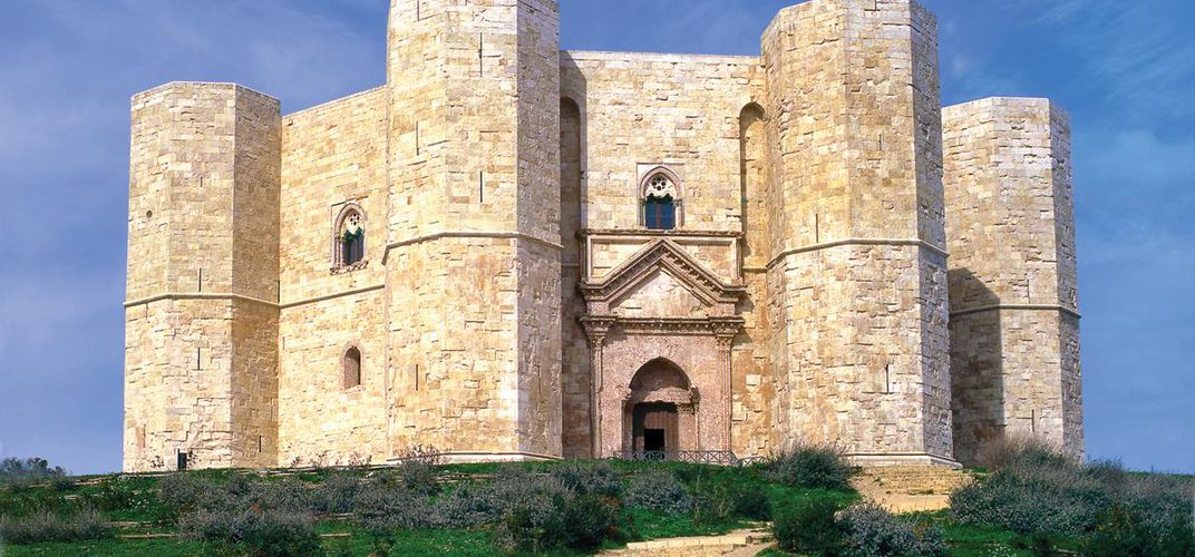 The World Heritage site of Castel del Monte in Apulia