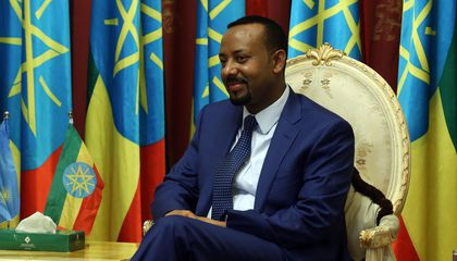 Ethiopian Prime Minister Abiy Ahmed Ali Wins the 2019 Nobel Peace Prize