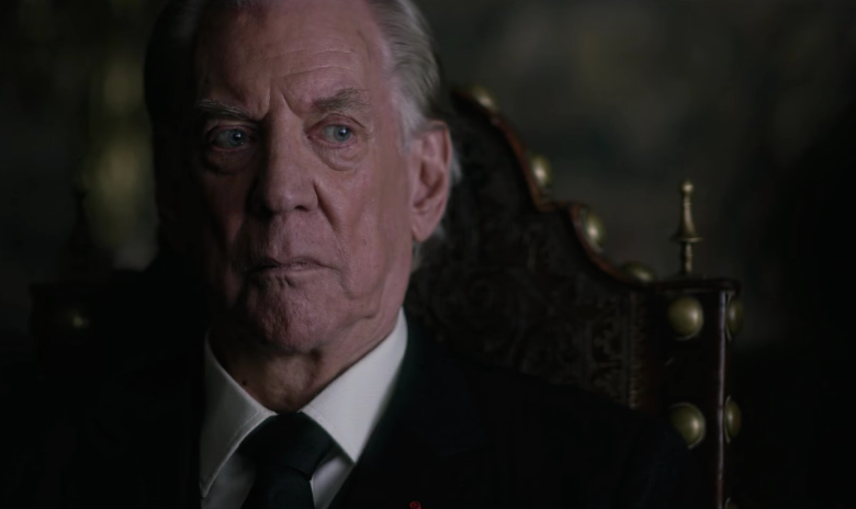 Donald Sutherland stars as John Paul Getty.