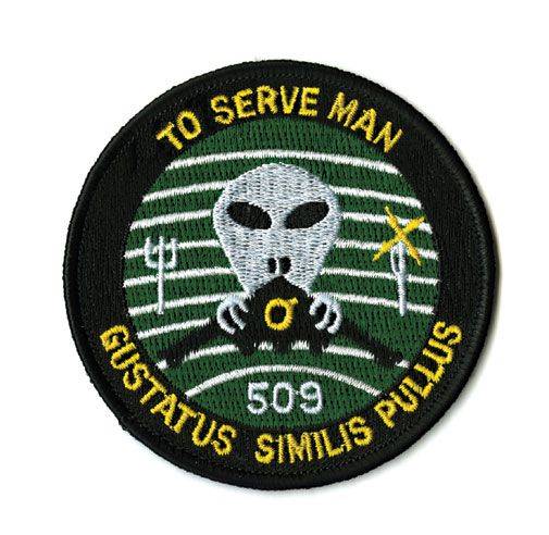 Secret patches from the Pentagon's