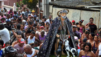 Cuba's Fascinating Babalú-Ayé Procession Honors African and Catholic Traditions