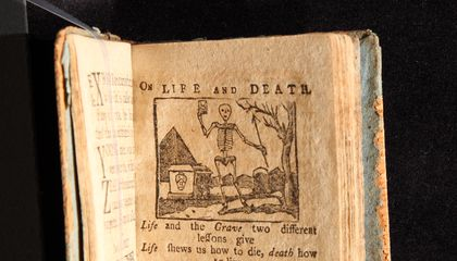 Children Used to Learn About Death and Damnation With Their ABCs