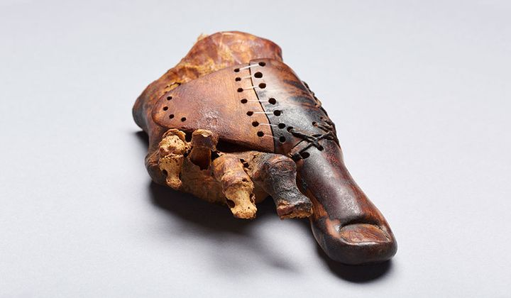 This Ancient Wooden Toe Is the Oldest Prosthetic