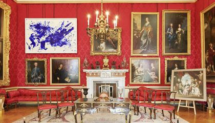 See Yves Klein's Experimental Art Take Over the Palatial Blenheim Estate