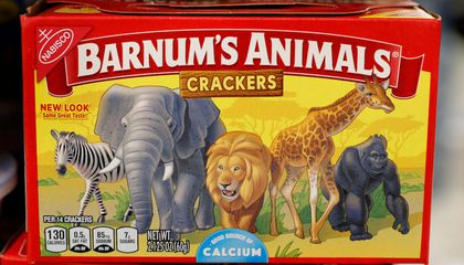 After 116 Years, Animal Crackers Have Been Freed From Their Circus Cages