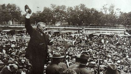 Why Teddy Roosevelt Tried to Bully His Way Onto the WWI Battlefield