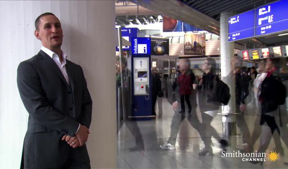 Preview thumbnail for video'This Man Controls the Ways You Walk in Airports