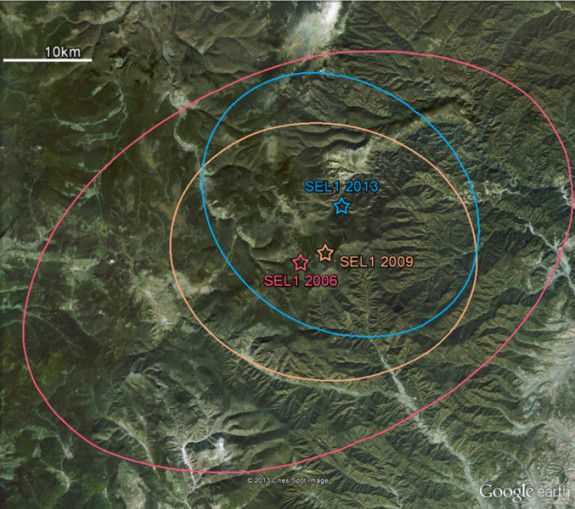 Seismic waves from North Korea's new nuclear test were traced to a site near its two previous tests.