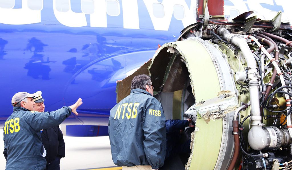 Federal investigators have not yet determined what caused the left engine of Southwest Flight 1380 to explode during flight on April 17, 2018.