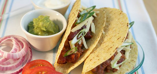 Where did the taco come from arts culture smithsonian for American cuisine facts