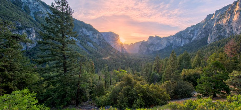Treasures of Yosemite  Discover the magnificent scenery of the American West