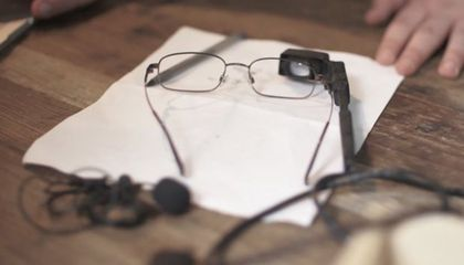 Teen Inventors Create Live Closed-Captioning Glasses for the Deaf