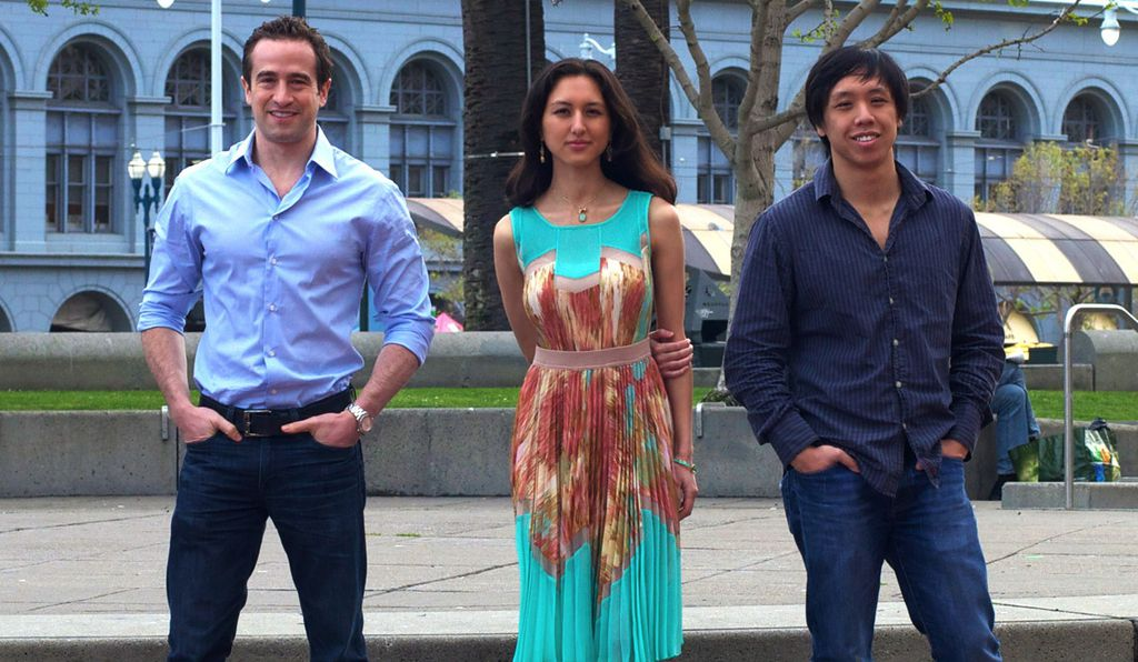 Founders Jared Heyman, Jessica Greenwalt and Axel Setyanto