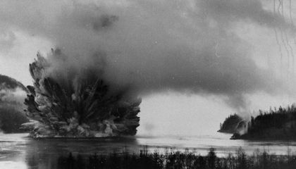 Your Alaskan Cruise is Possible Because Canada Blew Up an Underwater Mountain