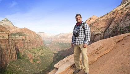 Smithsonian's Kirk Johnson Steps Up to Be the Rock Star of Geology