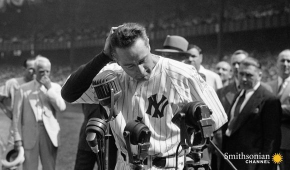Preview thumbnail for video'Lou Gehrig's Toughest Day in Yankee Stadium