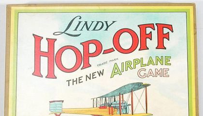Lindbergh's 1927 Flight Set Off a Mini-Craze of Board Games