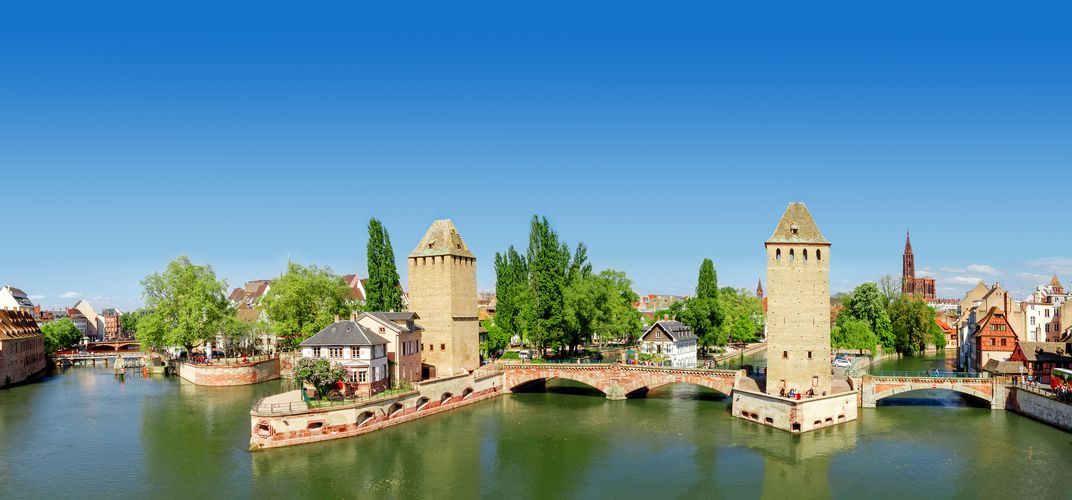 The French city of Strasbourg