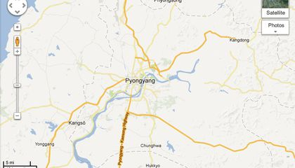 Google's New Maps Reveal That, Yes, There Are Roads in North Korea