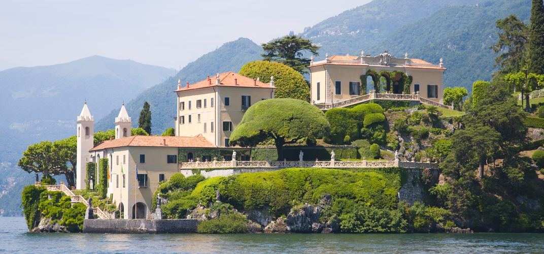 Villa along the shores of Lake Como