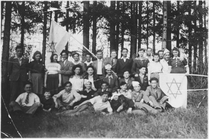 Group with flags