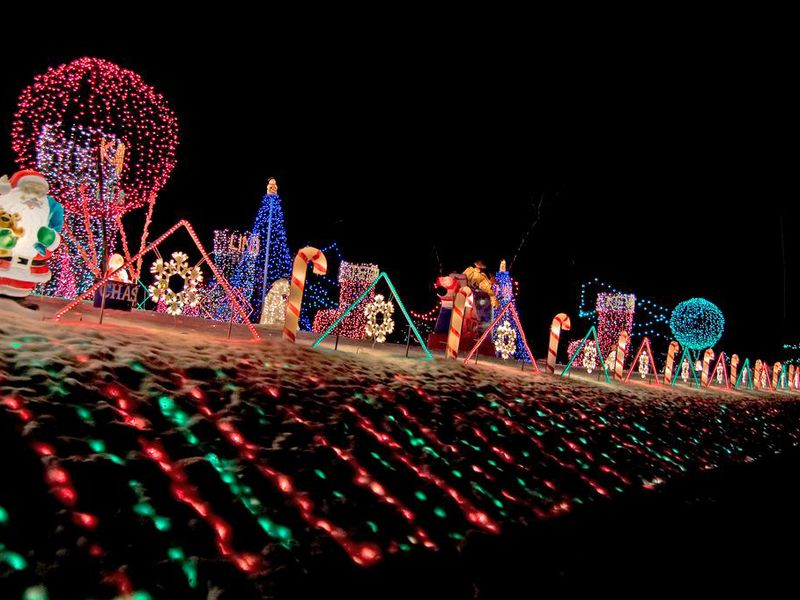 crazy christmas lights - Where To Go See Christmas Lights