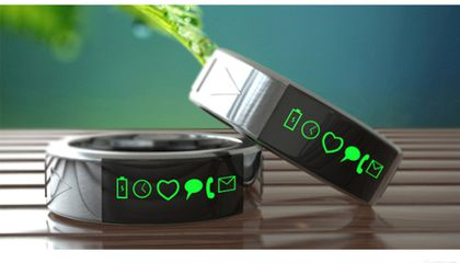 Forget Bulky Smart Watches, Slip On a Smart Ring