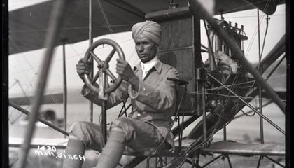"In 1912, Mohan Singh Was Billed as ""The Only Hindu Flyer in the World"""