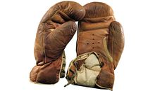Gene Tunney boxing gloves