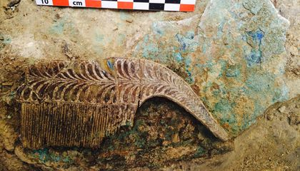 The Incredible Treasures Found Inside the 'Griffin Warrior' Tomb