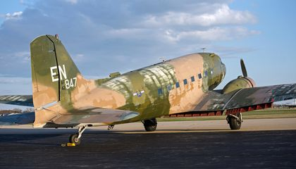 Crowdsourcing Saves D-Day's First Airplane