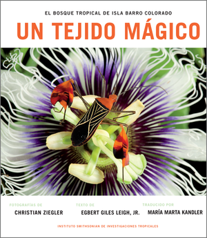 Un Tejido Magico: El Bosque Tropical de Isla Barro Colorado (Spanish Edition) photo