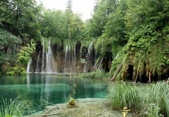 Among the more photogenic of the Plitvice Lakes, in Croatia.