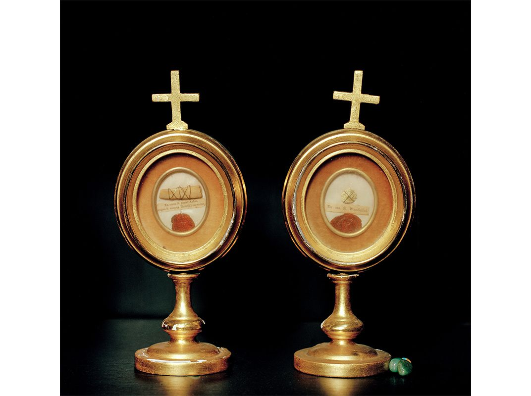 A pittsburgh church holds the greatest collection of relics reliquaries of st corpus thoralti servatur and st wendelinus confessor joni sternbach biocorpaavc
