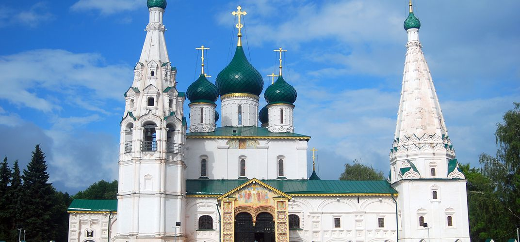 Church of Elijah the Prophet, Yaroslavl, a World Heritage Site