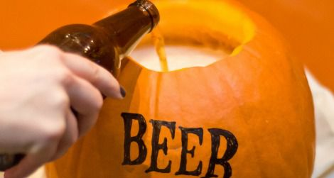Pumpkins and beer