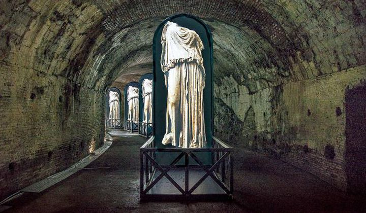 Tour the Tunnels Beneath Rome's Baths of Caracalla