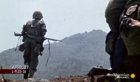 Preview thumbnail for video'U.S. Marines' first test against Japanese defenses on Okinawa.